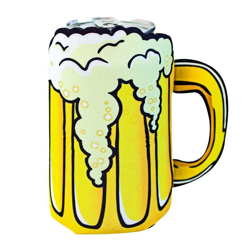 Beer Mug Die Cut Can Cooler