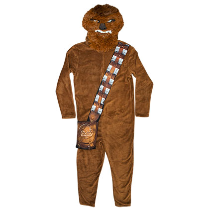 Star Wars Men's Chewbacca Pajama Union Suit