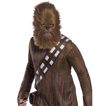 Star Wars Chewy Chewbacca Fur Half Mask