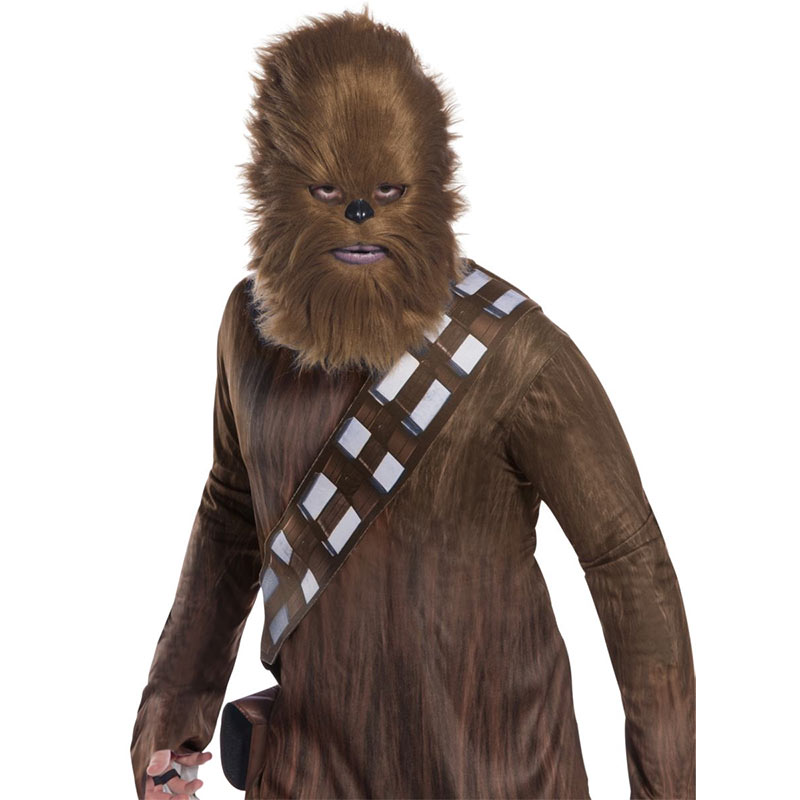Star Wars Chewy Chewbacca Costume Fur Half Mask  sc 1 st  SuperheroDen.com & Star Wars Chewy Chewbacca Costume Fur Half Mask | SuperheroDen.com