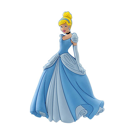 Cinderella PVC Soft Touch Magnet