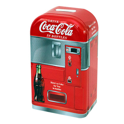 Coca Cola Red Classic Coin Bank