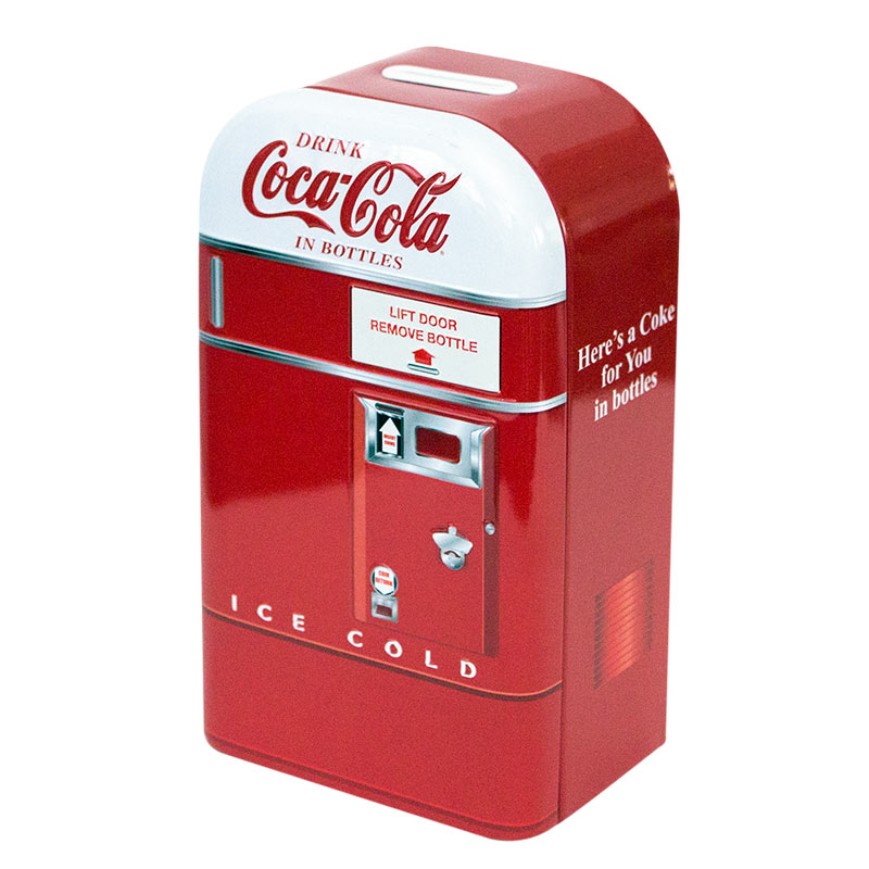Coca-Cola White Hood Coin Bank