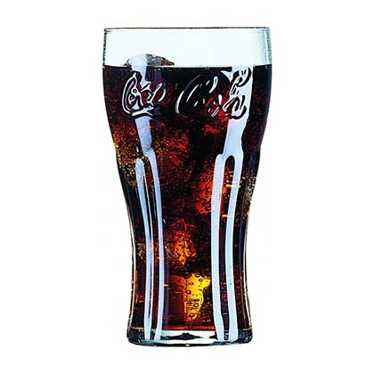 Coca-Cola Contour Pint Glass