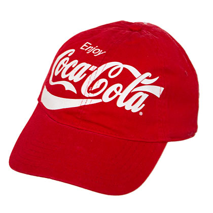 Coca Cola Logo Hat