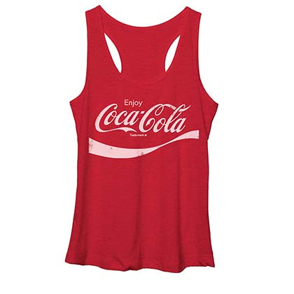 Coca-Cola Classic Coke Logo Women's Tank Top