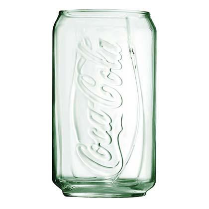 Coca Cola Soda Can Pint Glass