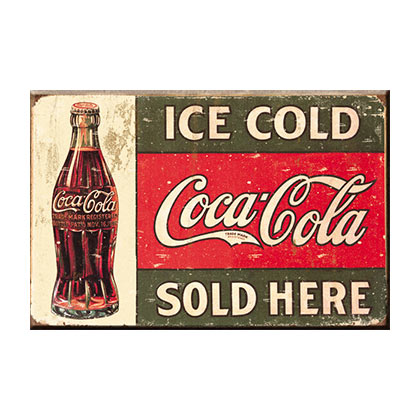 Coca-Cola Ice Cold Logo Magnet