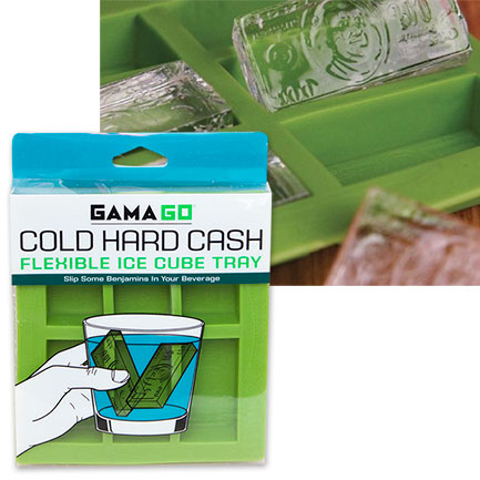 Cold Hard Cash Silicone Ice Cube Tray
