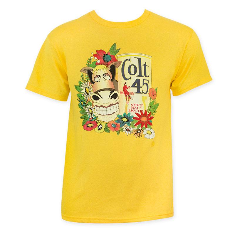 81d58574a88abb Colt 45 Men s Gold Donkey T-Shirt
