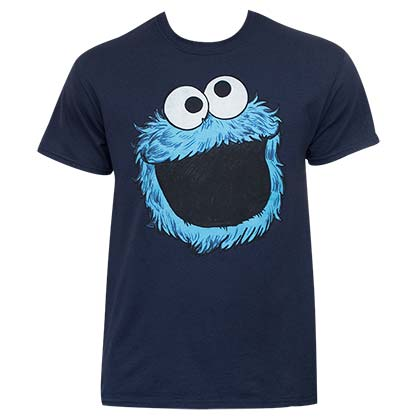 Sesame Street Cookie Monster Face Shirt