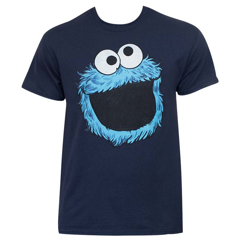 706adf62bd7749 item was added to your cart. Item. Price. Sesame Street Cookie Monster  Cartoon Face Shirt