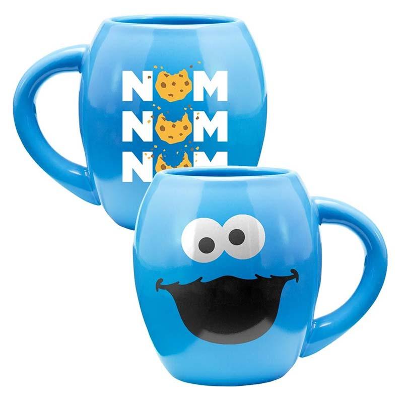 Sesame Street Cookie Monster 18oz Stoneware Mug