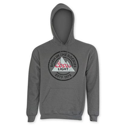 Coors Light Men's Classic Grey Hoodie