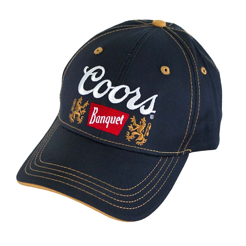 Coors Banquet Navy Blue Hat