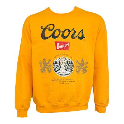 Coors Banquet Golden Crewneck Sweatshirt