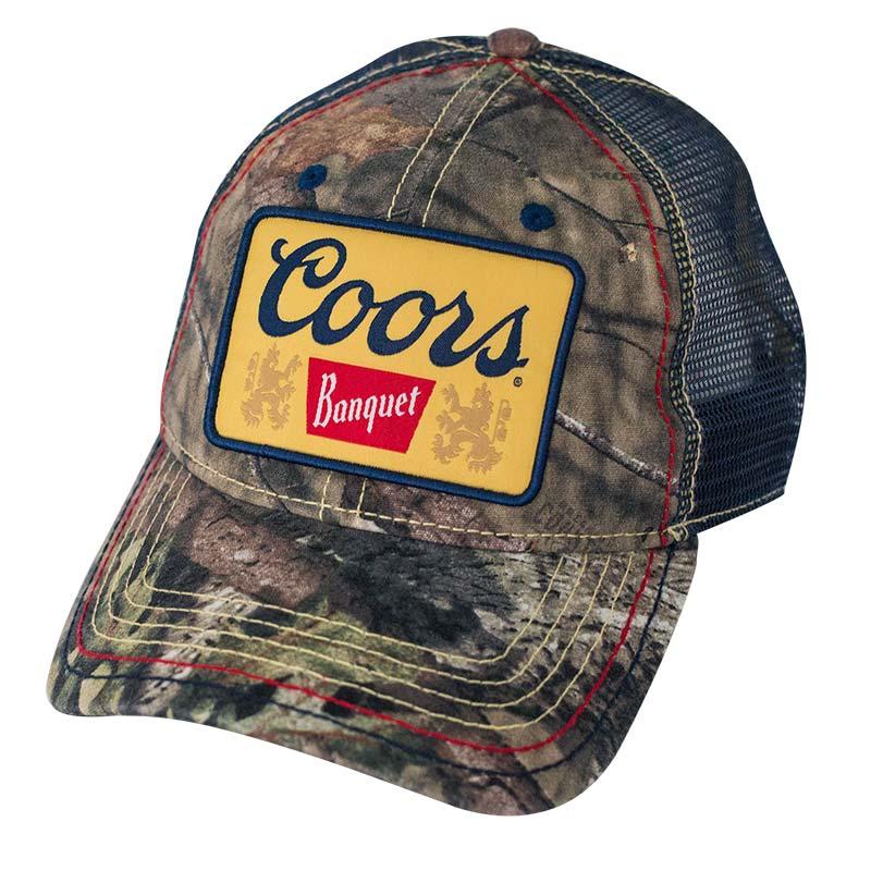 Coors Banquet Camo Trucker Cap
