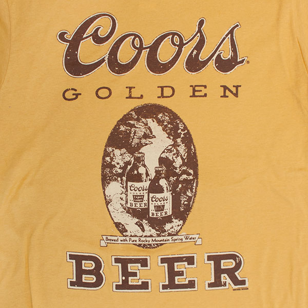 Coors Brewing Co. Gold Beer T-Shirt