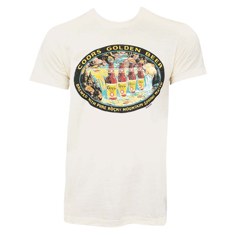 Coors Vintage Waterfall Tee Shirt