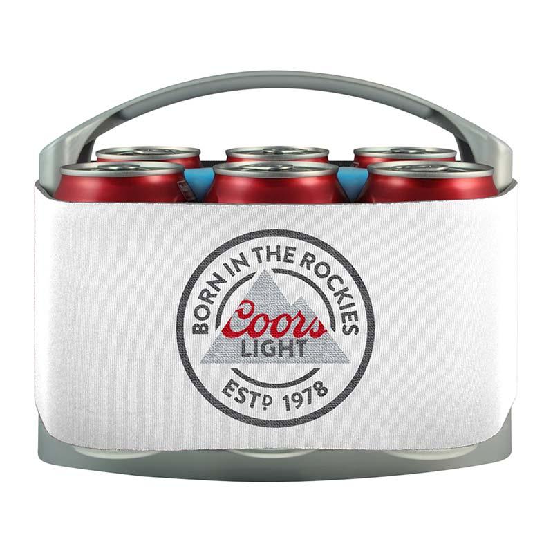 Coors Light Brand 6 Pack Cooler