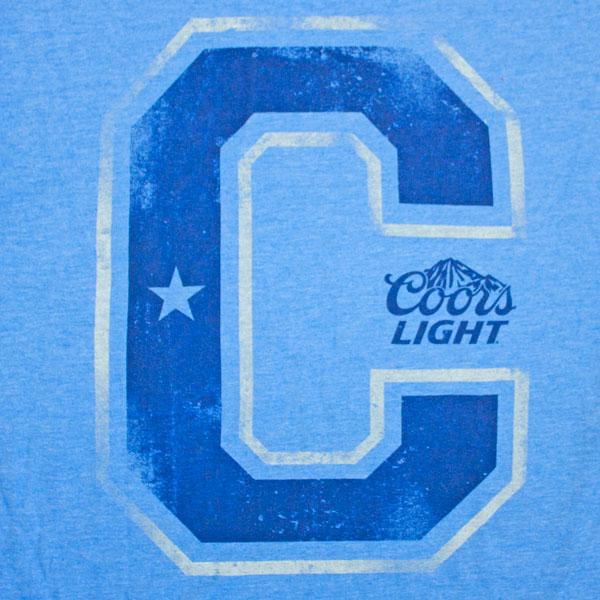 Coors Light C T-Shirt - Blue