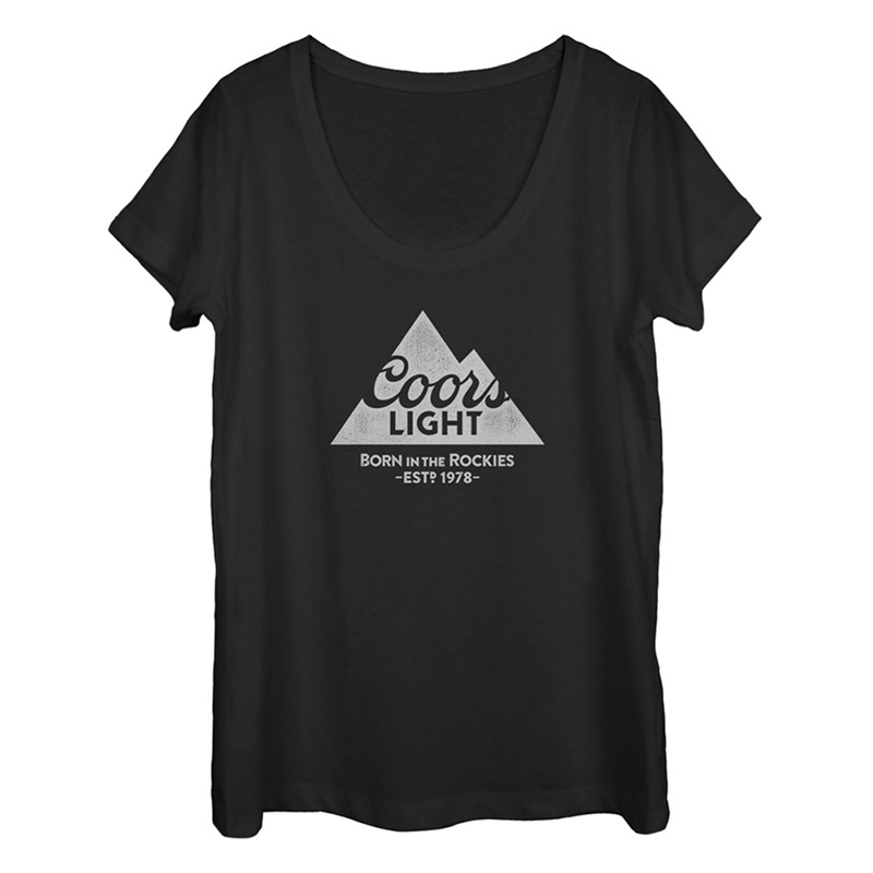 e037c729b5f20a Coors Light 1978 Women s U Neck Tshirt