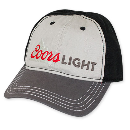 Coors Light Grey Mountain Logo Hat