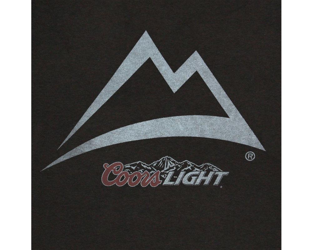 Coors Light Mountain Logo Shirt