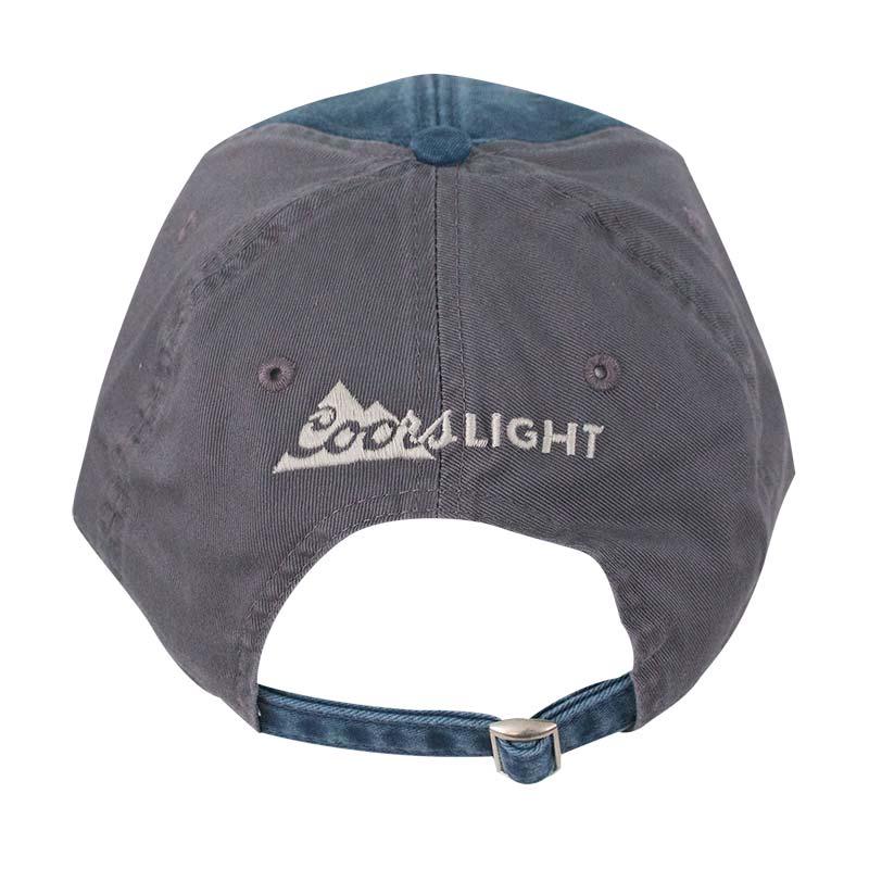 Coors Banquet Mesh Trucker Light Blue Snapback Hat