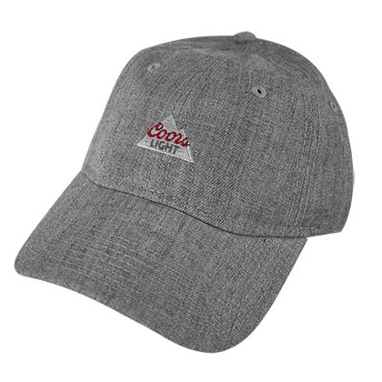 Coors Light Grey Dad Hat