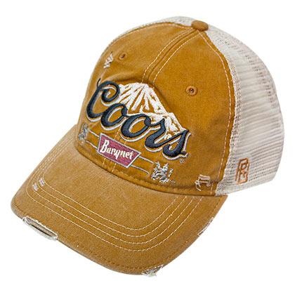 Coors Banquet Gold Retro Brand Trucker Hat