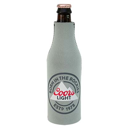 Coors Light Born In The Rockies Bottle Cooler