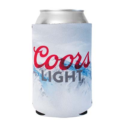 Coors Light Foam Can Cooler