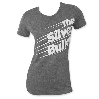 Coors Light Women's Grey Silver Bullet T-Shirt