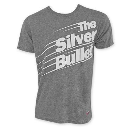 Coors Light Men's Grey Silver Bullet Tee Shirt