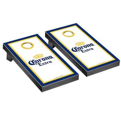 Corona Bottle Label Corn Hole Game