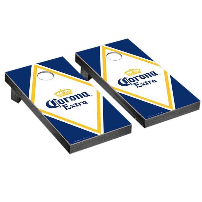Corona Diamond Logo Corn Hole Game