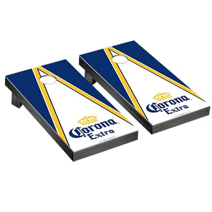 Corona Triangle Logo Corn Hole Game