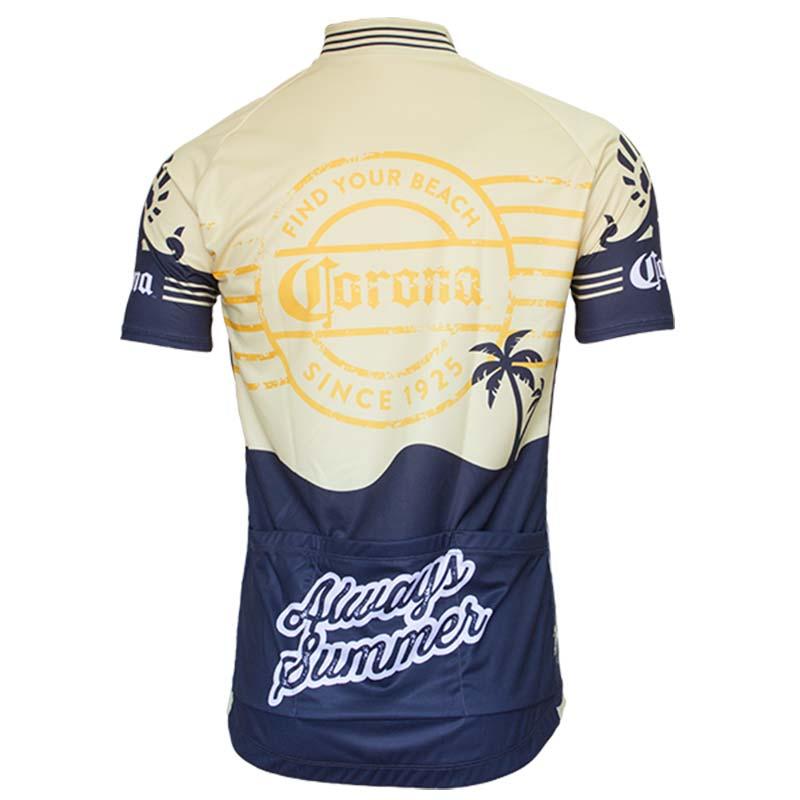 0aa3104f9 Corona Vintage Men s Short Sleeve Cycling Jersey