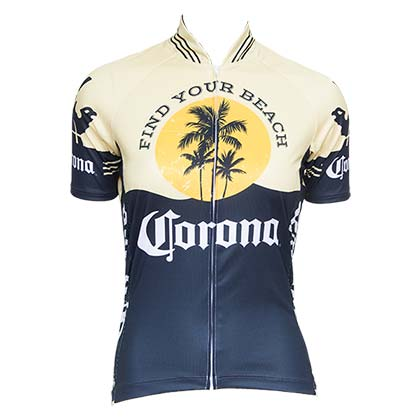 Corona Vintage Women's Short Sleeve Cycling Jersey