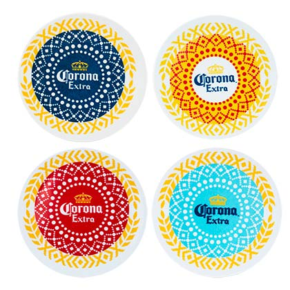 Corona Extra 4 Piece Coaster Set