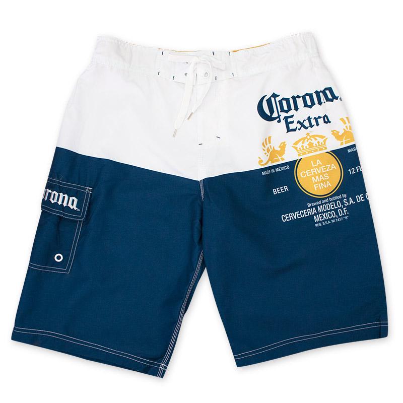 Corona Extra Label Men's Board Shorts
