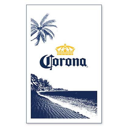 Corona Beer Beach Towel