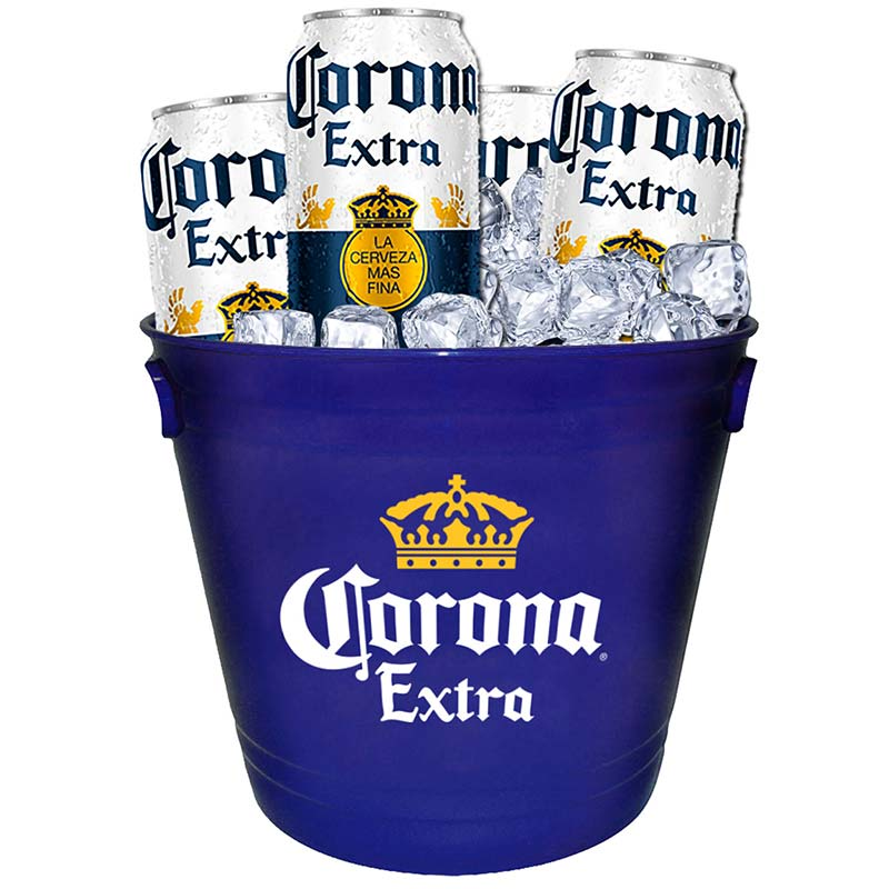 Corona Extra Blue Beer Bucket With Handles
