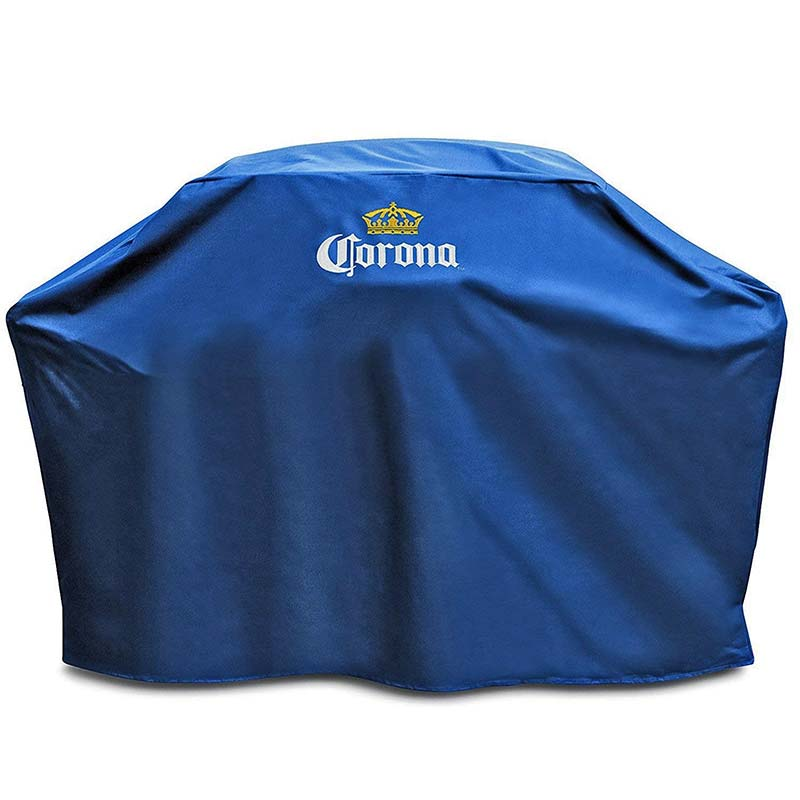 Corona Extra Weather Resistant Blue BBQ Grill Cover