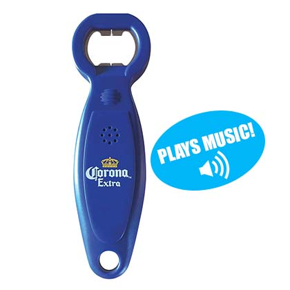 Corona Extra Blue Talking Bottle Opener