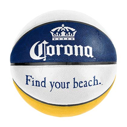 Corona Extra White Basketball
