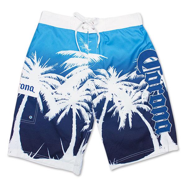 105e7ecfe5 Corona Fading Palms Boardshorts | WearYourBeer.com