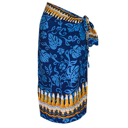 Corona Extra Blue Bottle Beach Sarong