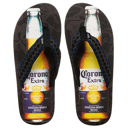 Corona Extra Bottle Adult Sandals